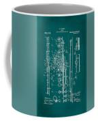 Flute Patent Drawing 2f Coffee Mug