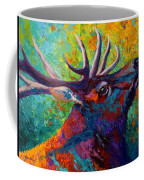 Forest Echo - Bull Elk Coffee Mug