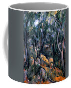 Forest In The Caves Above The Chateau Noir Coffee Mug