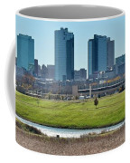 Fort Worth Panorama Coffee Mug