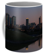 Fort Worth Skyline At Sunset Coffee Mug