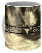 Fort Worth Stockyards District Archway Coffee Mug