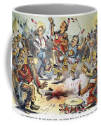 Free Silver Cartoon, 1896 Coffee Mug