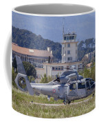 French Navy As565 Panther Helicopter Coffee Mug