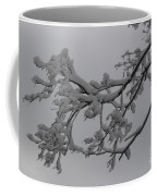 Fresh Snow On Magnolia Tree Coffee Mug