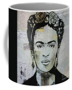 Frida Kahlo Press Coffee Mug