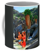 Frolicking In The Canyons Coffee Mug
