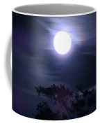 Full Moon Falling Coffee Mug