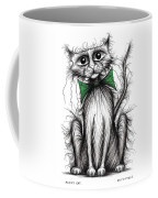 Fuzzy Cat Coffee Mug