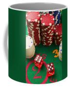 Gambling Dice Coffee Mug