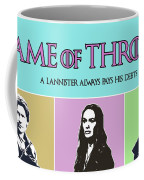 Game Of Thrones. Lannister. Coffee Mug