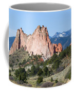 Garden Of The Gods Park In Colorado Springs In The Morning Coffee Mug