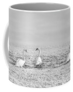 Geese Surrounded By Hoarfrost Coffee Mug
