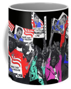 George Wallace For President Supporters Democratic Nat'l Convention Miami Beach Florida 1972-2013 Coffee Mug
