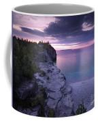 Georgian Bay Cliffs At Sunset Coffee Mug