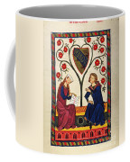German Minnesinger 14th C Coffee Mug