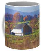 Gettysburg Barn Coffee Mug by Bill Cannon