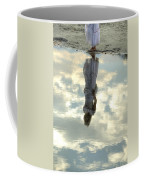 Girl And The Sky Coffee Mug by Joana Kruse