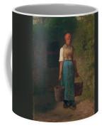 Girl Carrying Water Coffee Mug
