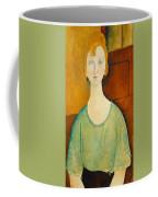 Girl In A Green Blouse Coffee Mug