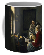 Girl Interrupted At Her Music Coffee Mug