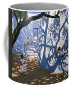 Girl On A Swing India Coffee Mug by Andrew Macara