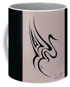 Gliding Swan Coffee Mug