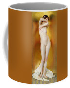 Glow Of Gold Gleam Of Pearl Coffee Mug by William McGregor Paxton