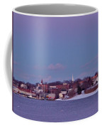 Goat Hill At Sunset In Winter Coffee Mug