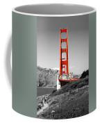 Golden Gate Coffee Mug by Greg Fortier