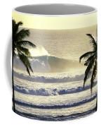 Golden Palms Coffee Mug by Sean Davey