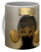 Golden Pre-columbian Figure Coffee Mug
