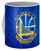 Golden State Warriors Door Coffee Mug