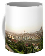 Golden Sunset Of Florence, Italy. Coffee Mug