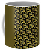 Golden Tropics Pattern Coffee Mug