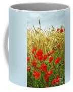 Grain And Poppy Field Coffee Mug