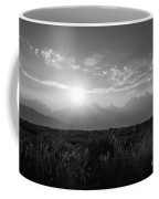 Grand Teton Hazy Sunset  Coffee Mug