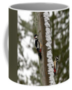 Great Spotted Woodpeckers Coffee Mug