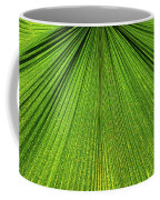 Green Lines Coffee Mug