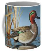 Greenwing Teal Drake Coffee Mug