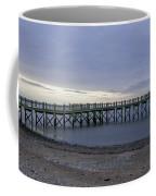 Gulf Beach Pier Coffee Mug