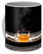 Gunpowder Green Tea In Glass Teapot Coffee Mug