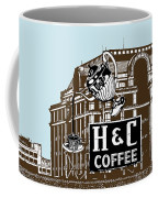 H And C Coffee Sign Roanoke Virginia Coffee Mug