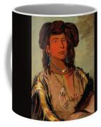 Ha-won-je-tah, One Horn, Head Chief Of The Miniconjou Tribe Coffee Mug