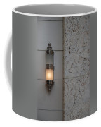 Half Lit Wall Sconce Coffee Mug