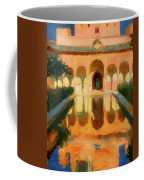 Hall Of The Ambassadors -  Alhambra Granada Coffee Mug
