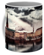 Hamburg At Dusk Coffee Mug