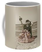 Hand Colored Hula Coffee Mug