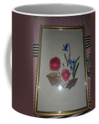 Hand Embroidery Coffee Mug