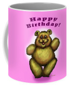 Happy Birthday Bear Coffee Mug